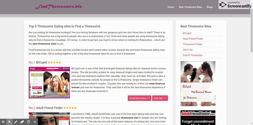 Findathreesome com