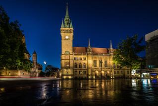 Braunschweiger Rathaus - Blaue Stunde