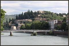 6611 PhotVerona 2018 S 2749 Verona 20180628_003 Castel San Pietro - Ponte Nuovo River Adige (Morton1905) Tags: 6611 photverona 2018 s 2749 verona 20180628003 castel san pietro ponte nuovo river adige
