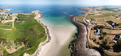 Penfoul Aerial Pano (rsthomas9) Tags: landunvez bretagne france fr porspoder brittany surfing mavic pro dji drone aerial coast seascape landscape argenton beach sea