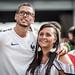 Fans de foot - Coupe du Monde 2018 - Durant le match France Uruguay