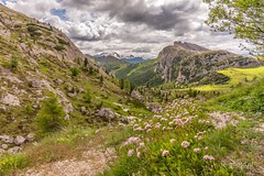 Cinque Torri Cortina d'Ampezzo (jacquelineermens) Tags: cloudsstormsunsetssunrises mountains southtirol dolomite italië nikon