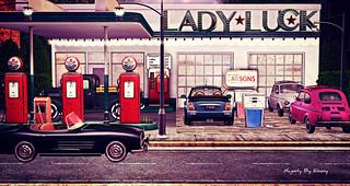 Majesty- Lady Luck Gas Station