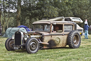 Ford Model A Hot Rod No Fenders 1931 (6560)