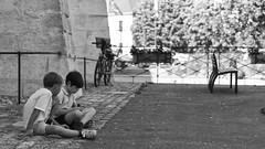 Annecy (Gui.llau.me) Tags: noir et blanc black white nb bw people street urban face exploration portrait city ville rue annecy lac