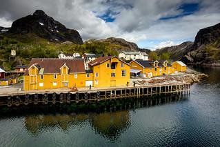 Nusfjord @ Harbor @ Norway 2018