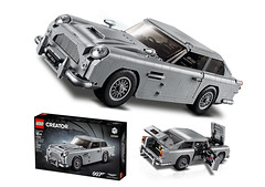 Creator #10262 (KEEP_ON_BRICKING) Tags: lego creator expert set aston martin db5 james bond car vehicle secret agent ride images official picture pictures image british uk
