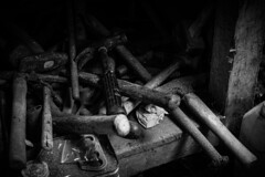 The Hammers (stujfoster) Tags: farm shed urbex gritty urban uk england
