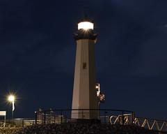 Lighthouse at Rockwall Harbor (2) (PNWTC) Tags: light lighthouse night rockwall texas