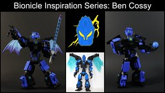 Episode 54 Out Now! (MCLegoboy) Tags: lego bionicle moc myowncreation review bencossy lord blue purple flames constraction system bionicleinspirationseries episode 54 selfmoc lightsaber wings ax youtube video