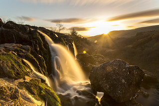 Loup Of Fintry - Sunset