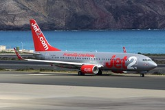 G-JZHY Boeing 737-800 @ Las Palmas, 24th February 2018 (_Illusion450_) Tags: lpa laspalmas grancanaria gclp 240218 laspuntillas airport aircraft airplane airline airlines airfield aeroplane aeroport aeropuerto aeronautical aviation flughafen
