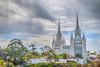 Glory in the Skies (Michael F. Nyiri) Tags: sandiego lajolla mormon churchofthelatterdaysaints mormontemple lds sandiegomormontemple architecture