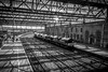 Carlisle Citadel Station (Charlie Little) Tags: carlisle citadel station cumbria bw black white railways creative sun nikon d7200