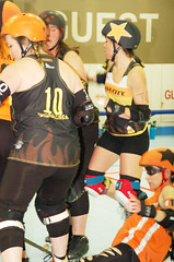 167 (Bawdy Czech) Tags: lcrd lava city roller dolls spit fires basin bombers bend or oregon april 2018 skate derby wftda flat track bout