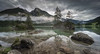 Lake Hintersee panorama (Mika Laitinen) Tags: canon5dmarkiv europe germany hintersee calm cloud dreamscape lake landscape longexposure mountain nature outdoors panorama rock serene sky water ramsaubeiberchtesgaden bayern de