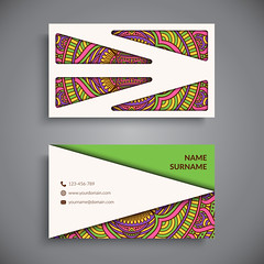 Business card. Vintage decorative elements. (jahidbabugd) Tags: card arabic indian mandala vector set pattern decoration model floral mystical flower template name element drawing henna ethnic frame texture web design cover paper invitation banner vintage identity motive decorative blank round ornament circle old decorate collection style phone meditation site motif islam black men sample ottoman romantic asian