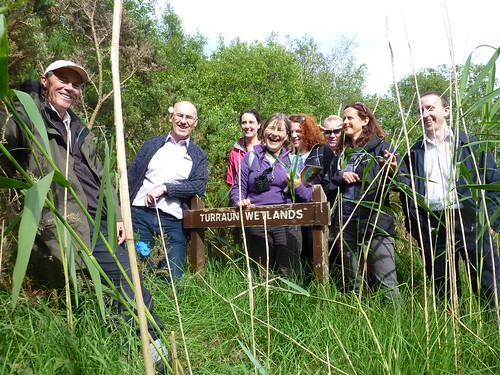 IRWC visits Turraun Wetlands, July 2013