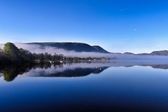Misty Morning, Ullswater, Cumbria, England (vincocamm) Tags: ullswater cumbria mirror morning spring blue moon boat yacht nikon d5500