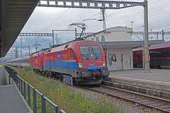 IMGP0501a Abfahrbereit (Alvier) Tags: schweiz ostschweiz alpenrheintal buchssg bahnhof grenzbahnhof transalpin zürichhbgrazhbf zug eisenbahn ec oebb sbb