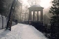 St. Bernard's Well (Spiff11) Tags: 2018 scotland edinburgh snow architecture nature path favorites