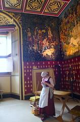 Sirvienta en castillo de Stirling, UK (eustoquio.molina) Tags: sirvienta castillo castle stirling uk techo painting