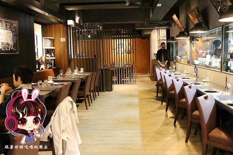 台北東區乾式熟成牛排 紅點熟成肉餐廳10