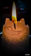 Sin oscuridad no existe la Luz (Miamy7) Tags: light luz candle vela macro llama
