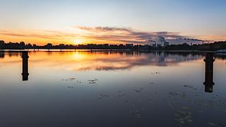 Morgendlicher Blick über die Havel