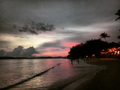 Night @ Ao Nang Beach, Krabi, Thailand. (ivofm01) Tags: music nightlive night light heart love asia weather cloud sky trip travel budgettraveler explorethailand explorekrabi lovekrabi thailand krabi aonangbeach onefineday summer potd whitesands water beach sunset