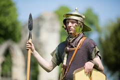 2016-06-05 - 20160605-018A8170 (snickleway) Tags: roman yorkshire museumgardens yorkromanfestival historicalreenactment canonef135mmf2lusm soldier york park england unitedkingdom gb