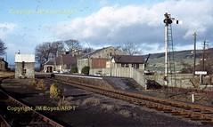 T104 20 Middleton in Teesdale Station 27111964 (Ernies Railway Archive) Tags: middletoninteesdalestation ner lner