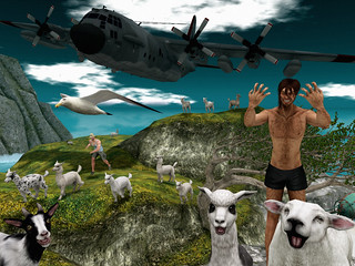 The Use of Airplanes as Sheepdogs on Coastal Hill Farms