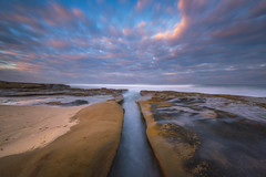 The Divide (Mike Ver Sprill - Milky Way Mike) Tags: divide la jolla california tide pools tidal pool beach seascape landscape nature beautiful sunrise sunset clouds cloudy travel