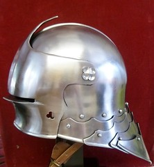 Gothic Sallet (martyboy2 of Britain) Tags: gothic sallet late 15th century wars roses head armour battle bosworth field
