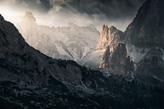 Journey to the Cross-roads - Dolomiti (Andrea Livieri) Tags: andrealivieri dolomiti dolomites naturalpark parconaturale tramonto cinquetorri falzarego passogiau fujifilm xt2 fuji luminositymasks exposurex3 alienskin outdoor italy italia fujinon landscape landscapes paesaggio paesaggi nature natura beauty lights lordoftherings lotr