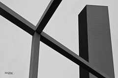 Japan-2b-054-hiroshima - factory (daviddreuxphotocrea) Tags: japon nippon urbanite urban city bâtiment 日本 japan hiroshima 広島 monochrome white black blanc noir factory abstrait abstract