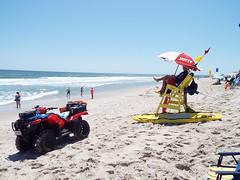Red Flag (EX22218 - ON/OFF) Tags: letsguide holgate newjersey bluefish sharks bullsharks brownsharks swimmingbeach surfingbeach swim surf sun fun lifeguards vacation longbeachisland