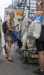 DSC_6175a Petticoat Lane Sunday Street Market London Oriental Lady Shopping (photographer695) Tags: petticoat lane sunday street market london oriental lady shopping