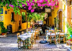 Chania, Crete (Kevin R Thornton) Tags: d90 taverna crete travel street architecture city greece nikon mediterranean chania ela creteregion gr
