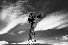 Cane Beds AZ Farm 2018 (Bernie Emmons) Tags: canebedsaz windmill blackandwhite arizona canebeds farm