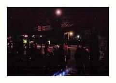 Bus Stop (Miguel E. Plaza) Tags: olympus olympustrip35 streetphotography analogphotography compactcamera argentina filmcamera film filmphotography 35mm fujicolorc200 fujifilmc200 fuji kodak leica