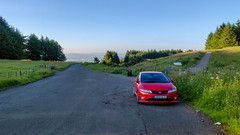 Nice evening for a spirited drive