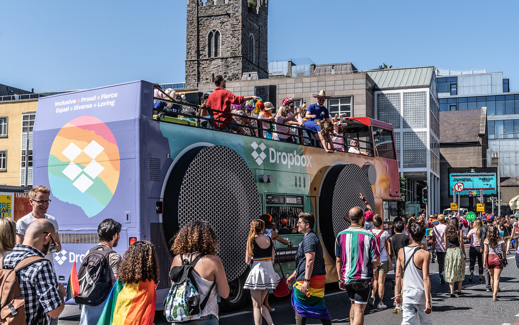 ABOUT SIXTY THOUSAND TOOK PART IN THE DUBLIN LGBTI+ PARADE TODAY[ SATURDAY 30 JUNE 2018] X-100004