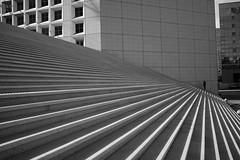 Paris (maekke) Tags: paris france lines architecture light bw noiretblanc streetphotography 35mm fujifilm x100t humanelement 2018 travelling tourist ladéfense grandearche