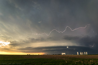 Colorado Supercell with Lightning