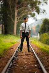 Test Pankanya - Promotion Shots (Daniel Badelita Photography) Tags: artist music musician dj composition talent art producer composer remix headphones headshots portrait portraiture railway train puffing billy 200mm 70200 canon5dmark3 canon5dmarkiii 5dmarkiii 5dmark3 emerald lake park professional