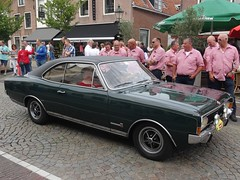 1969 Opel Commodore GS (harry_nl) Tags: netherlands nederland 2018 vianen oldtimerdag opel commodore gs 7878gh sidecode2
