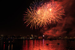 Boston, 4th July, 2018 (chris_brearley) Tags: 4july backbay boats boston celebration charlesriver citgo fenway fireworks independenceday july4 kayaks night river travel travelphotography