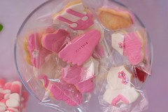 (rc_97) Tags: summer daughter dad 50mm canon mom body foot name girl cookies white pink sweets candy food table shower baby babyshower